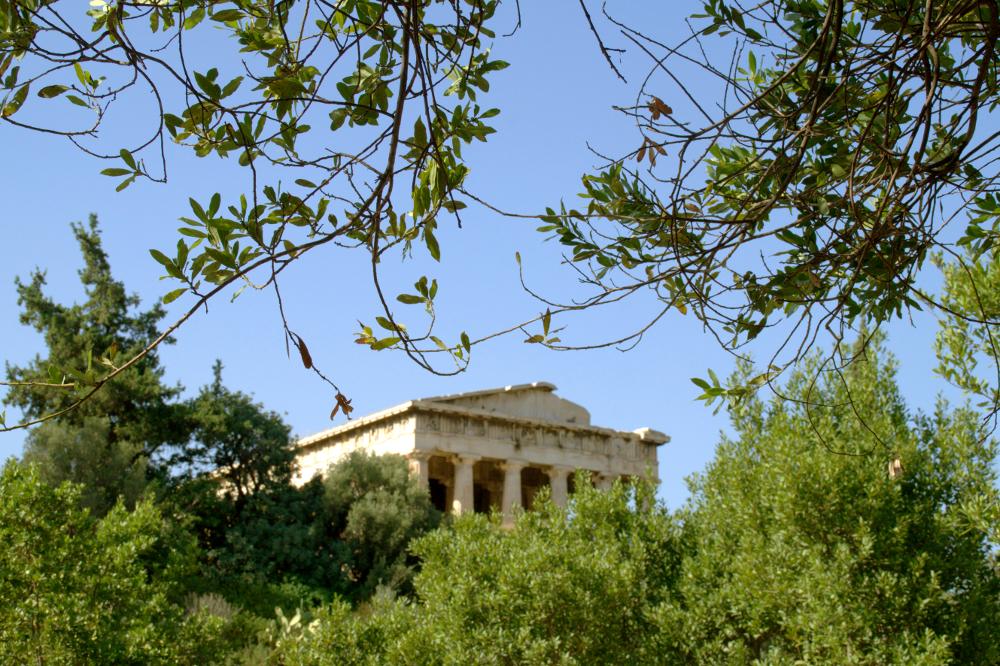Athen Hephaistos Temple