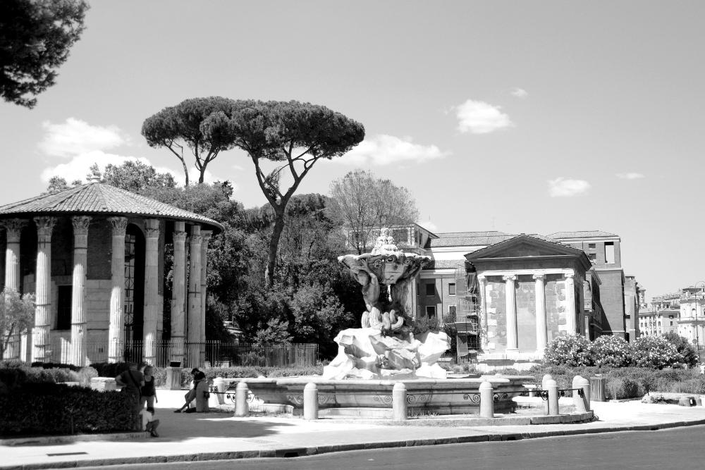Street of Rome, Italy