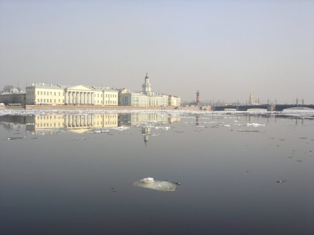 Newa St. Petersburg in winter