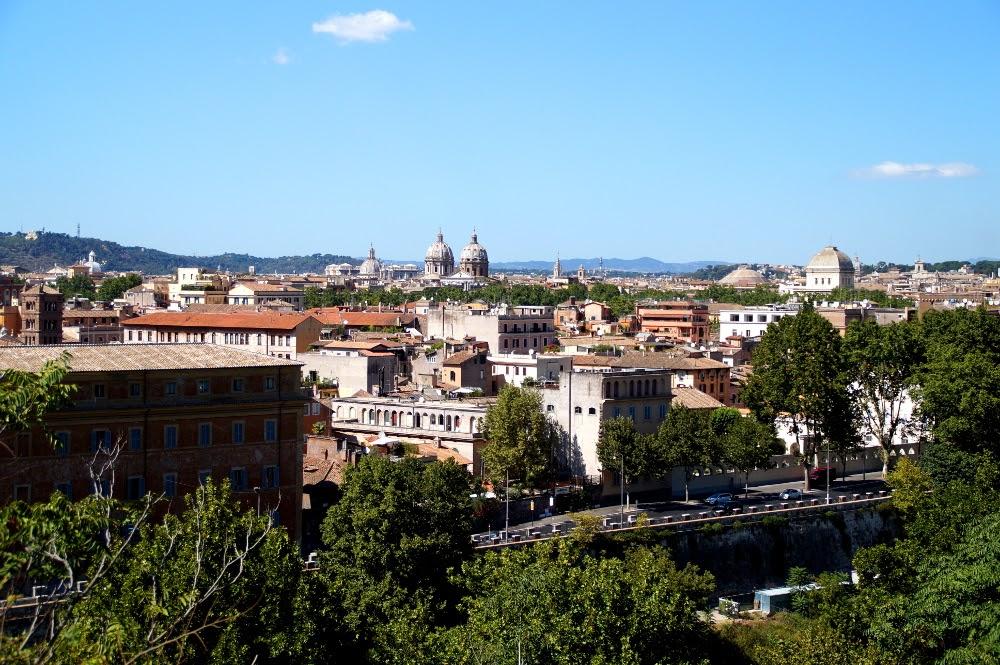 Aventine Rome view