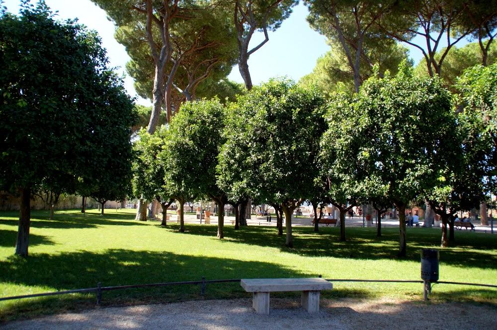 Aventine Hill Rome Orange Garden