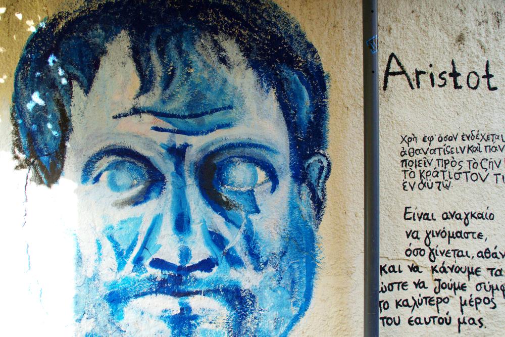Plaka Athens Aristoteles
