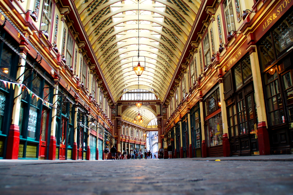 Leadenhall Market Harry Poter Diagon Alley