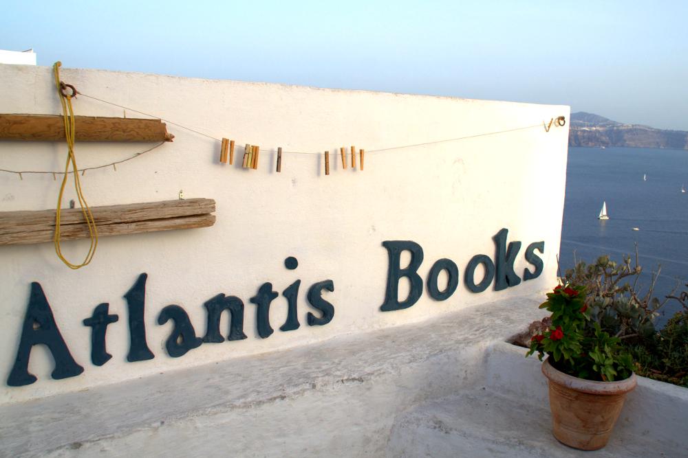 Griechenland Atlantis Books Santorin