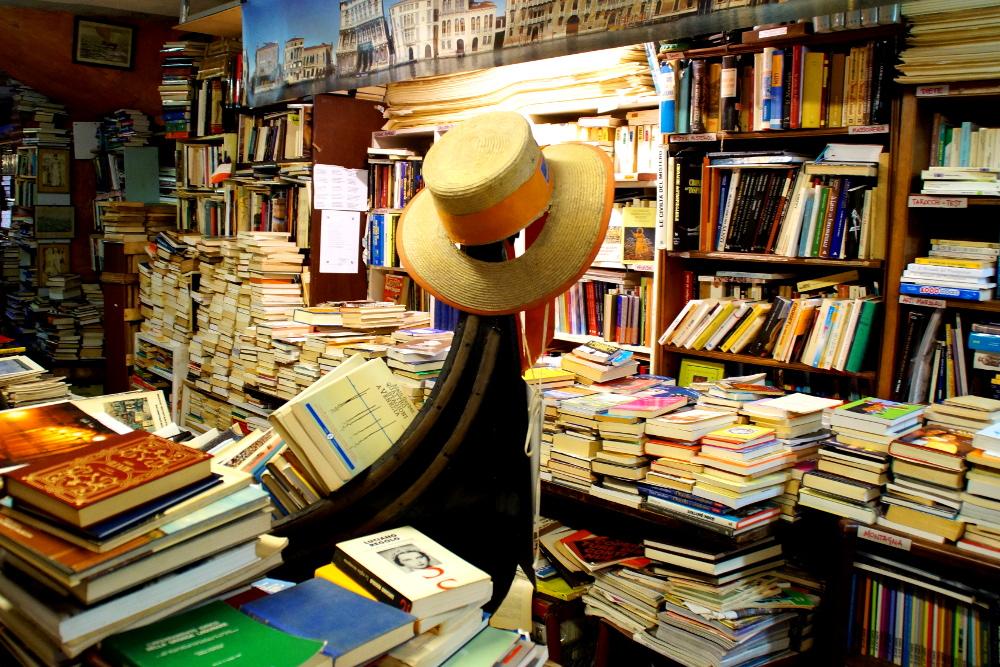 Venedig Libreria Acqua Alta