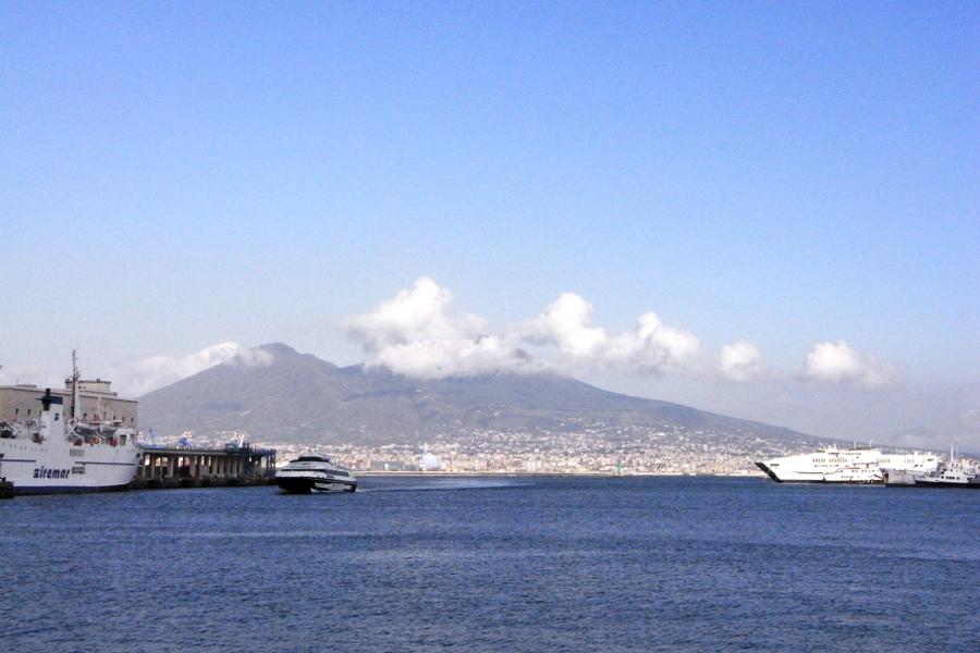 Vesuv besuchen Napoli Neapel Italy Italien