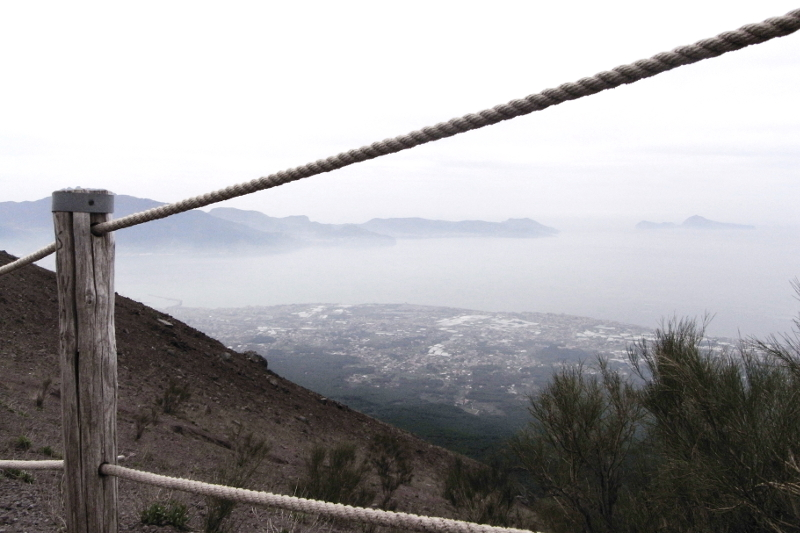 Besuch Vesuv Napoli Neapel Italy Italien