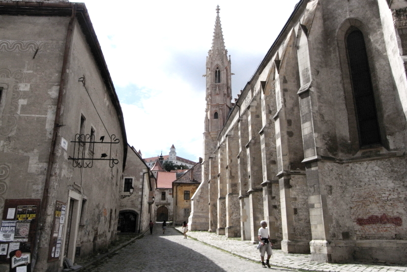 Klarissenkirche Bratislava Slowakei