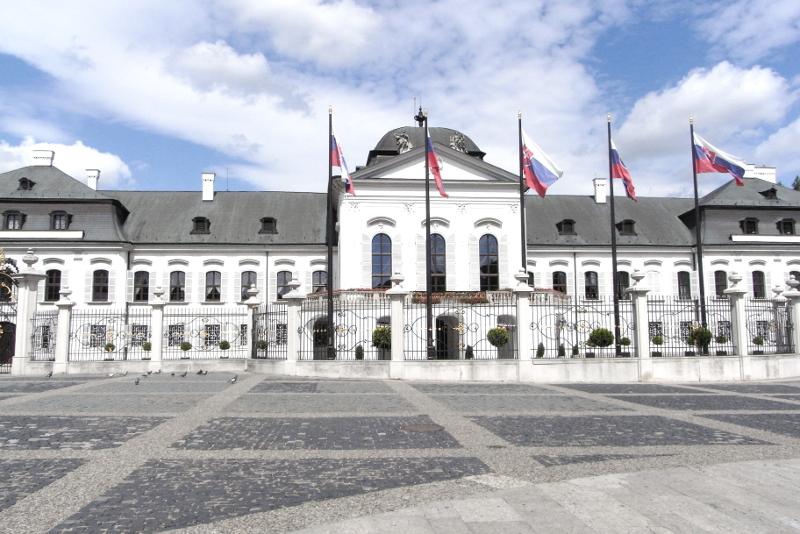Präsidentenpalais Bratislava Slowakei