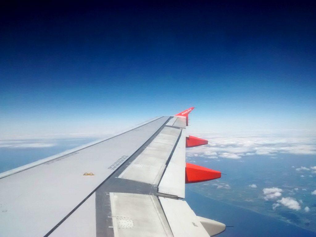 Flugzeuflügel