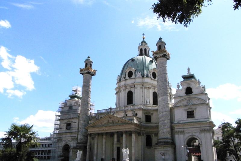 Karlskirche Wien Vienna Austria