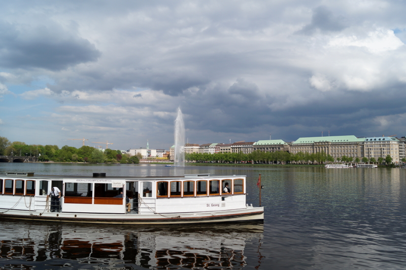 Hamburg on a budget Alster