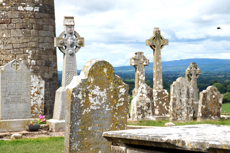 Rock of Cashel Cemetery Friedhof Ireland Irland
