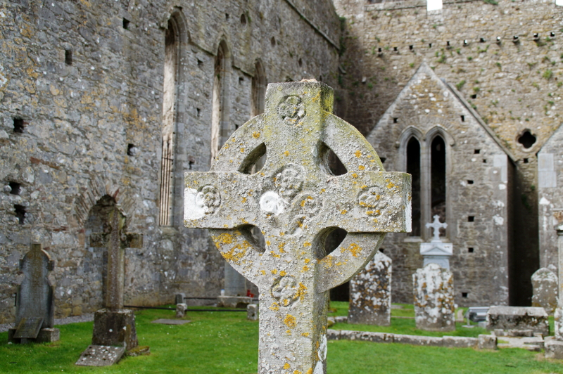 Rock of Cashel Cemetery Friedhof