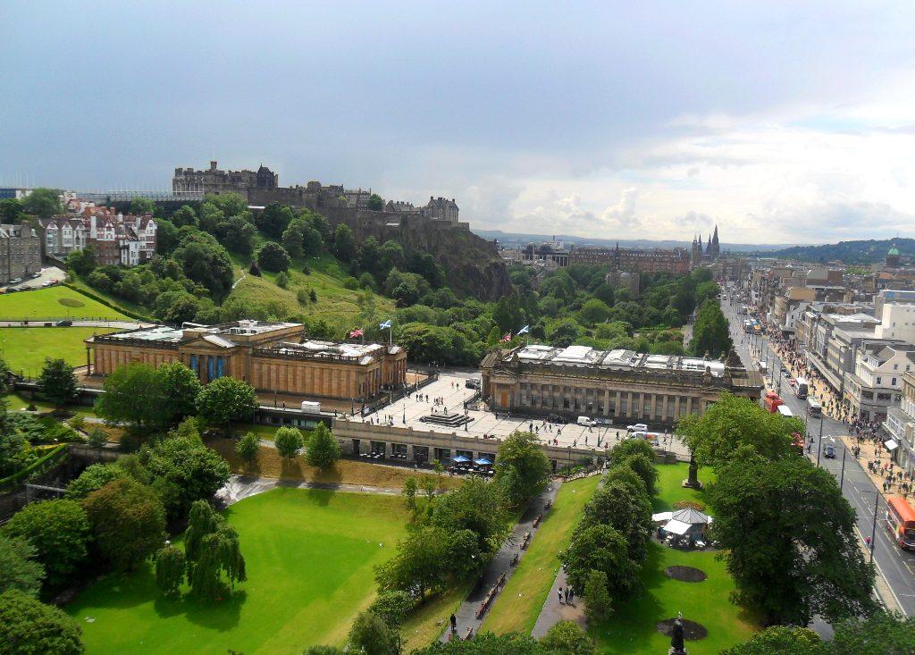Burgen Schottland