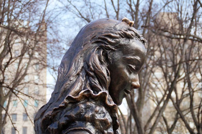 Alice im Wunderland Statue Central Park New York