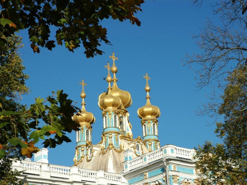 Katharinenpalast Herbst