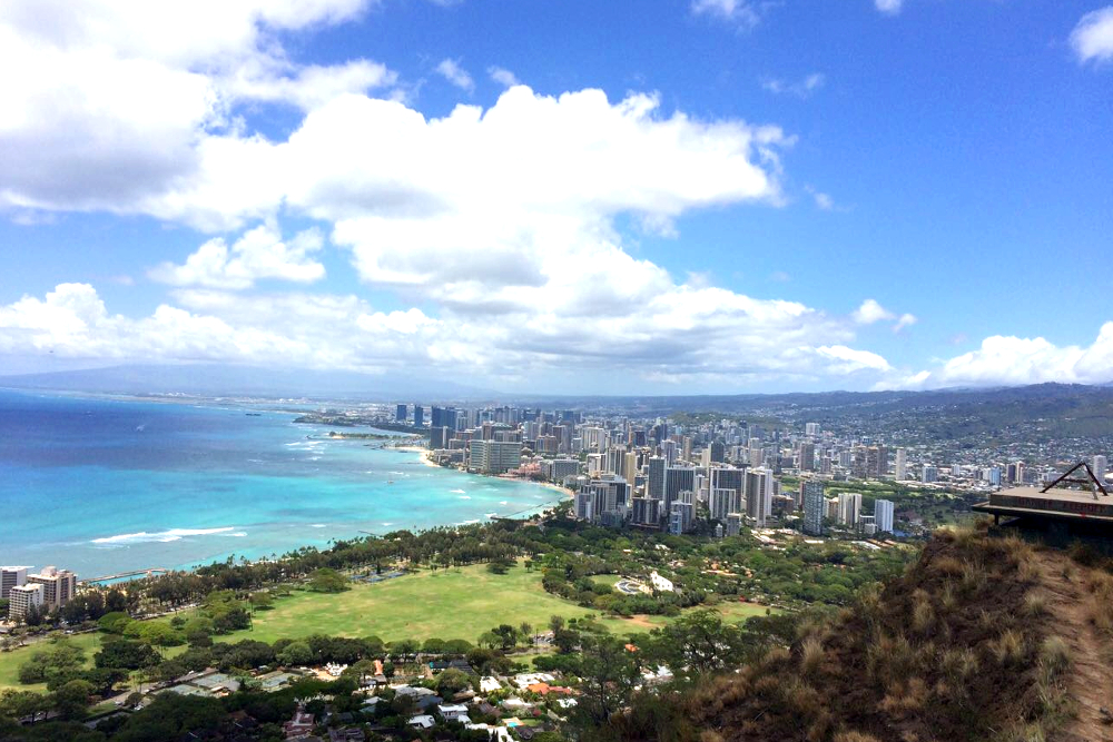 Oahu Hike Diamond Head