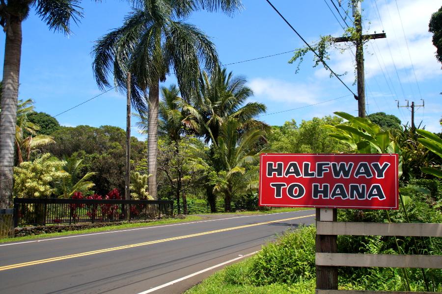 Halfway to Hana Maui
