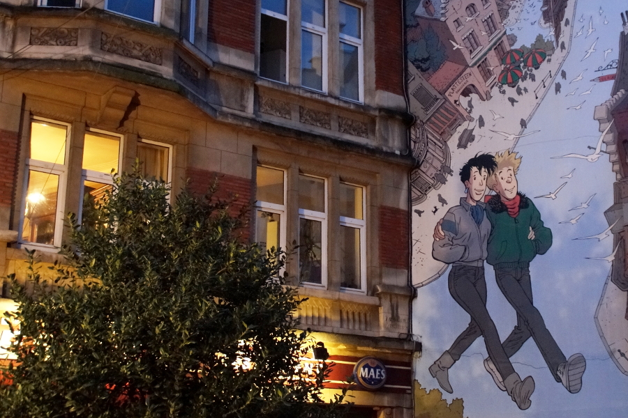 Comic Strip Route Brussels