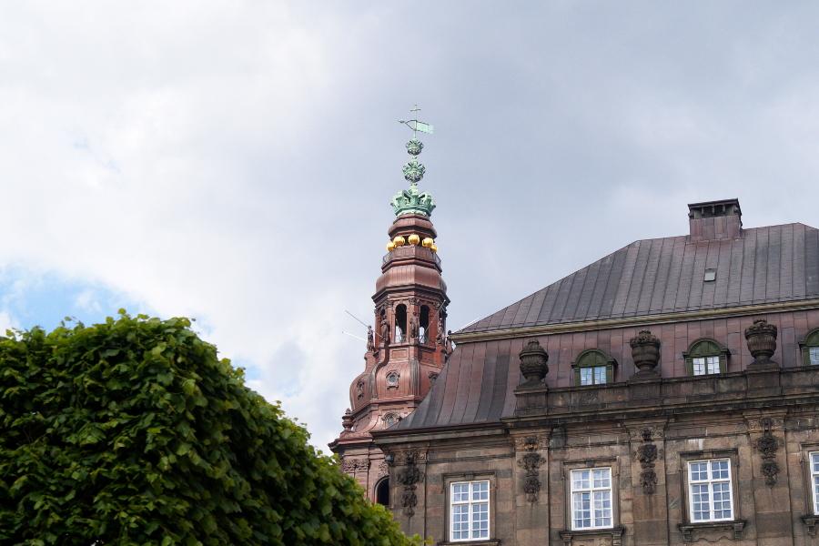 Christiansborg Schloss Aussichtsturm