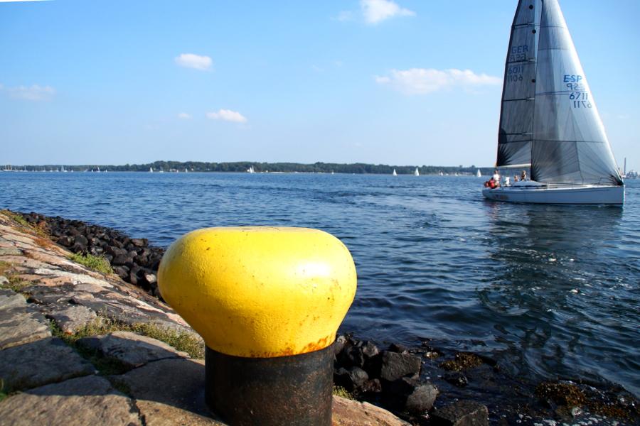 Kiel Norddeutschland im Sommer