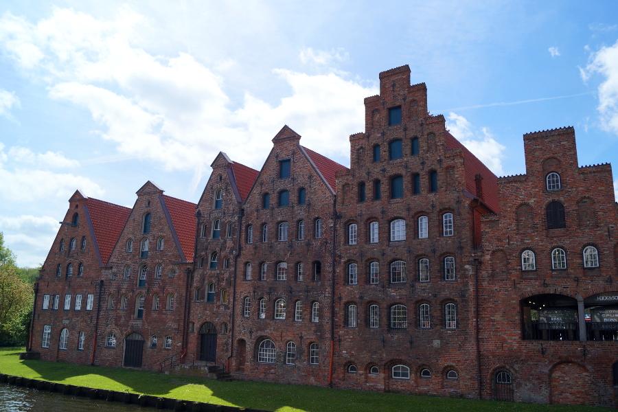 Lübeck Norddeutschland im Sommer