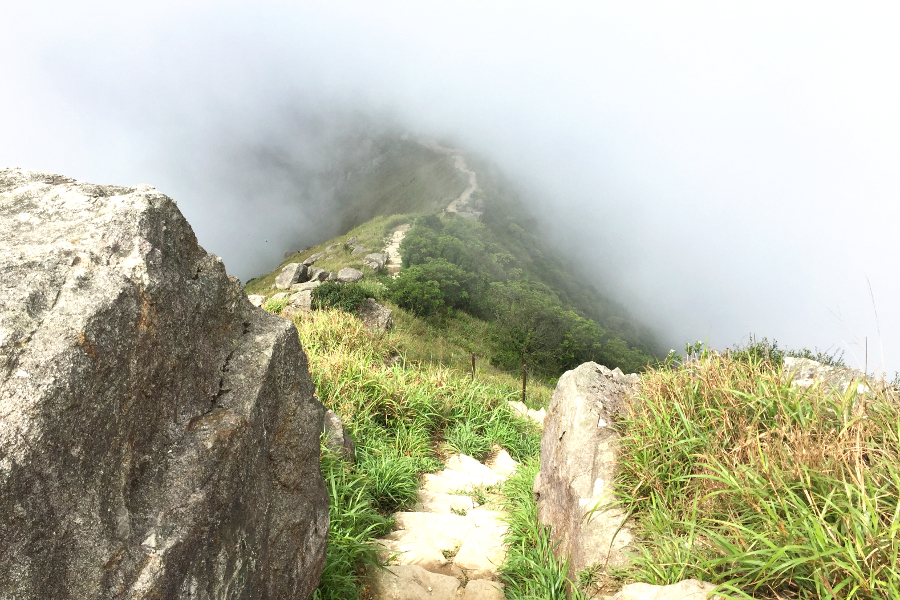 Lantau Peak Trail Lantau Island