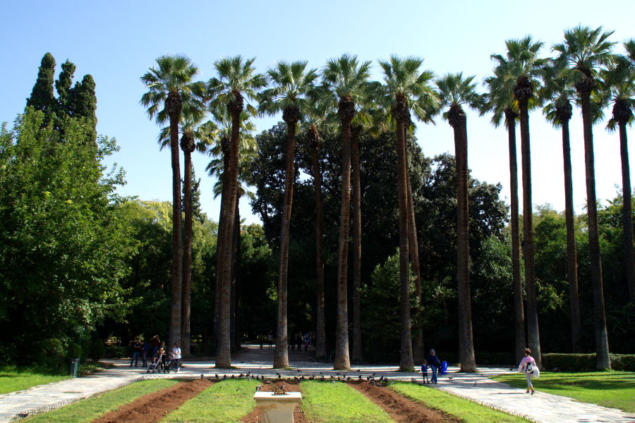Nationalgarten Athen Athens