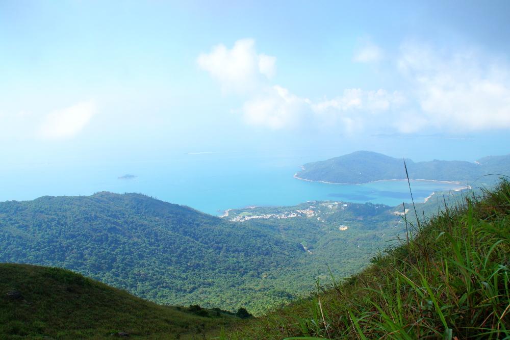 lantau island lantau peak trail