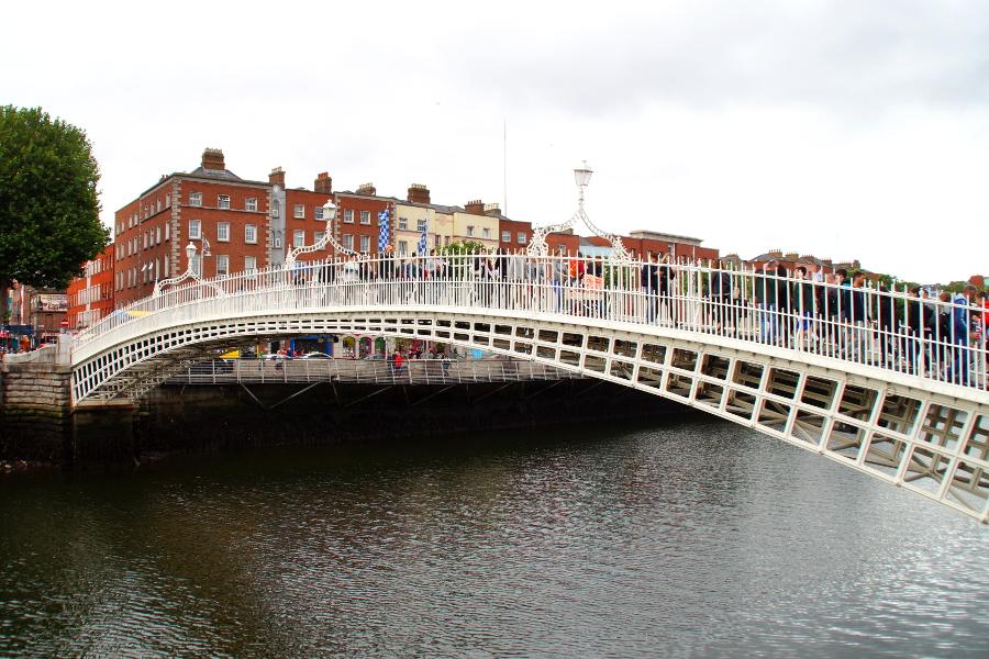 Dublin Ha Penny Bridge Ireland