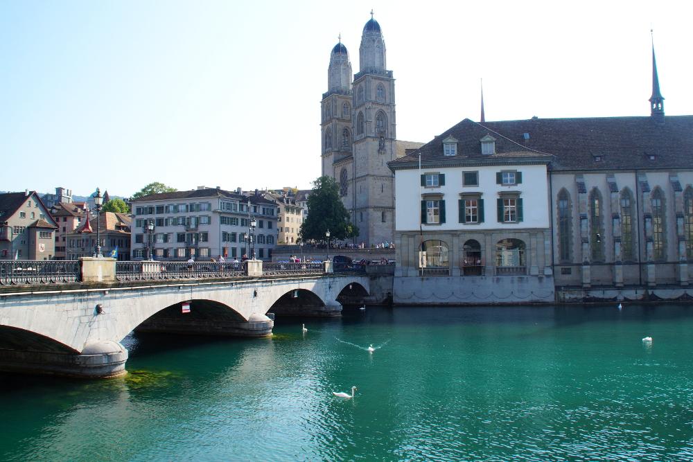 Zürich Altstadt Schweiz Titel