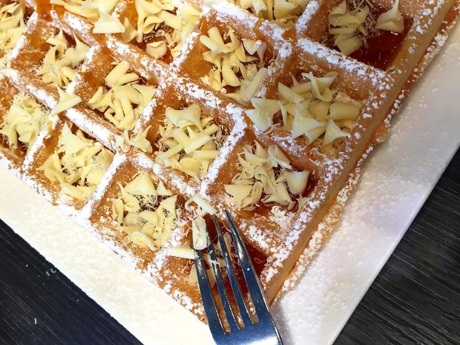 Belgische Waffeln Brügge Lizzies Waffles Bruges