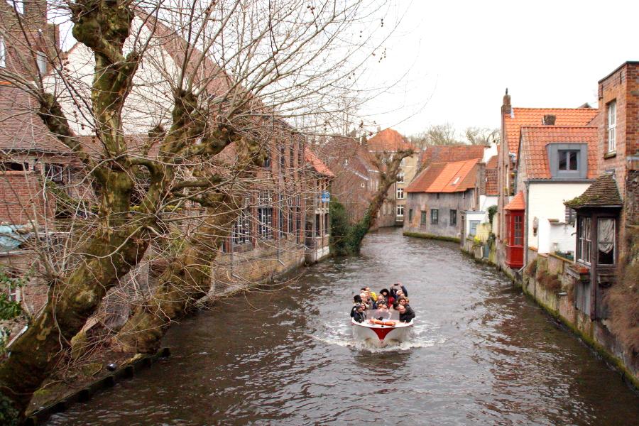 Brügge Boottour Bruges Boat Tour