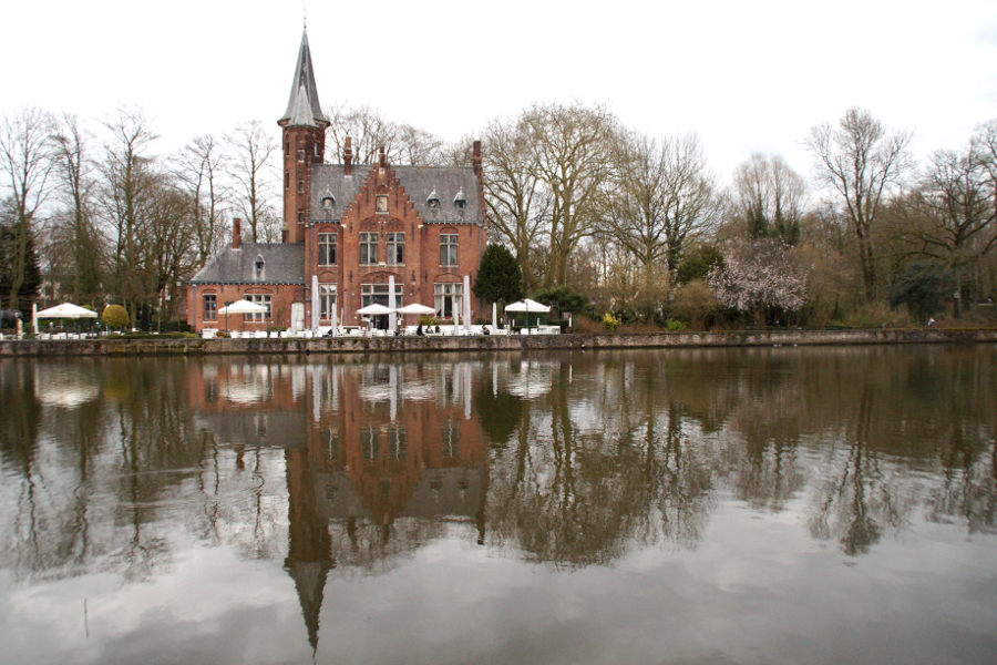 Brügge Bruges Canal
