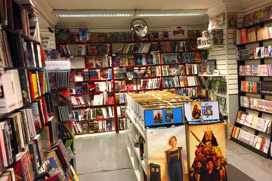 Sub City Comic Bookshop Dublin