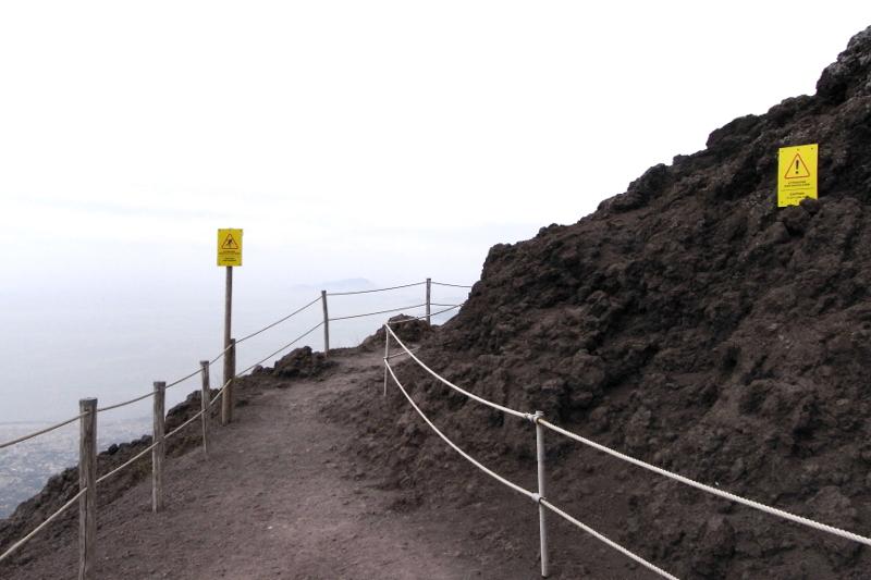 Vesuv Amalfiküste Aufstieg Anfahrt Öffnungszeiten Preise
