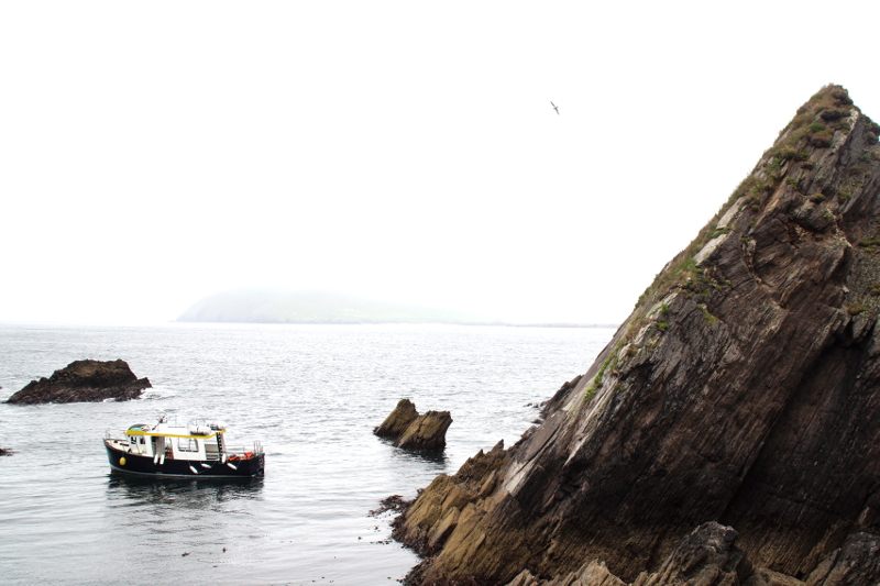 Blasket Island Dunquin Harbour Slea Head Drive Ireland