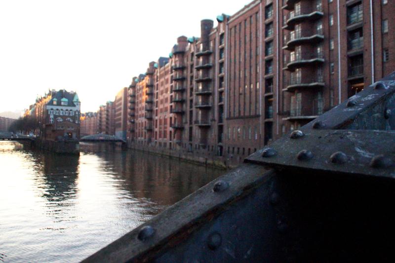 Hamburg Winter Speicherstadt