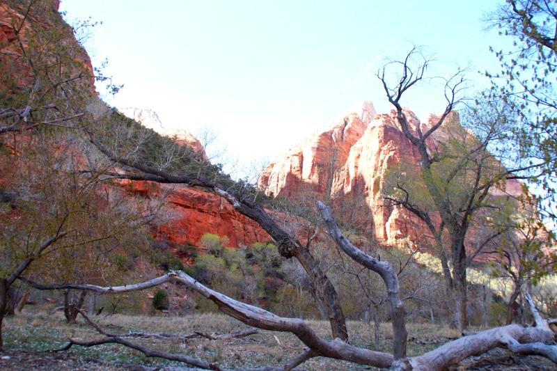 schönsten Nationalparks an der US-Westküste Zion National Park Utah