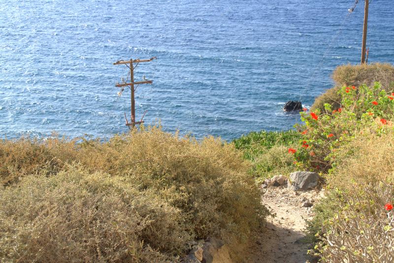 Katharos Beach Santorini Greece