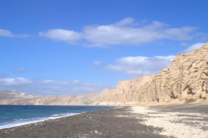 Santorins schönste Strände Vlychada Beach Santorini Greece
