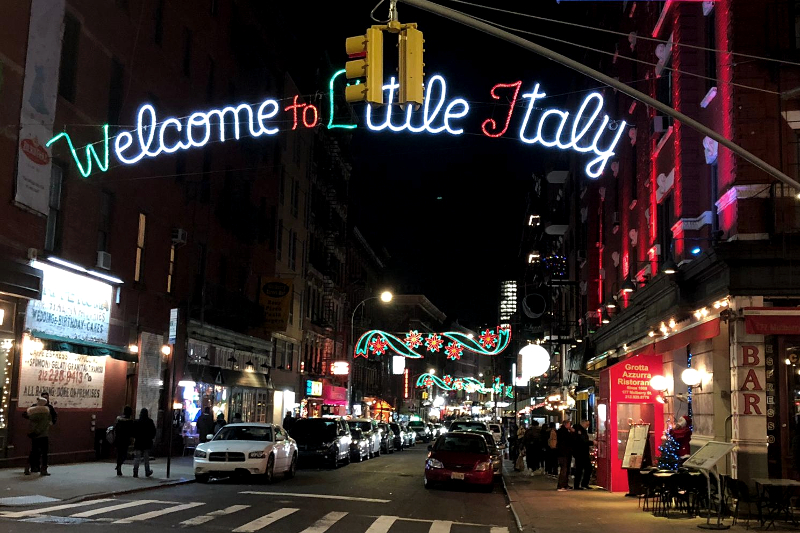 New York Foodguide Little Italy