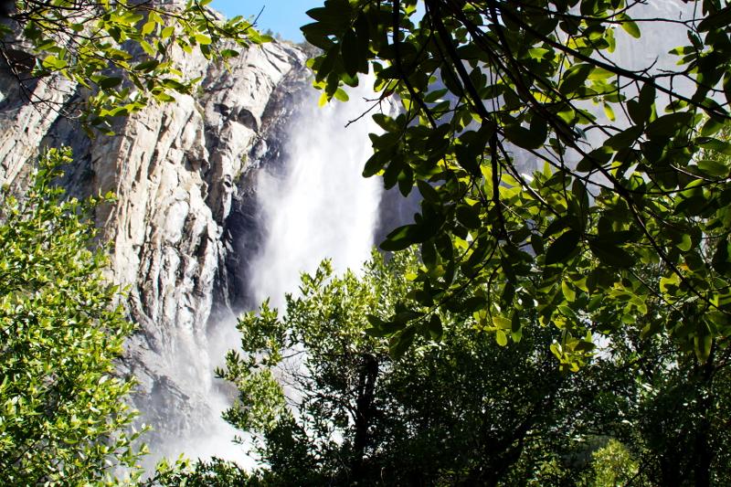 Bridalveil Falls Yosemite Park USA
