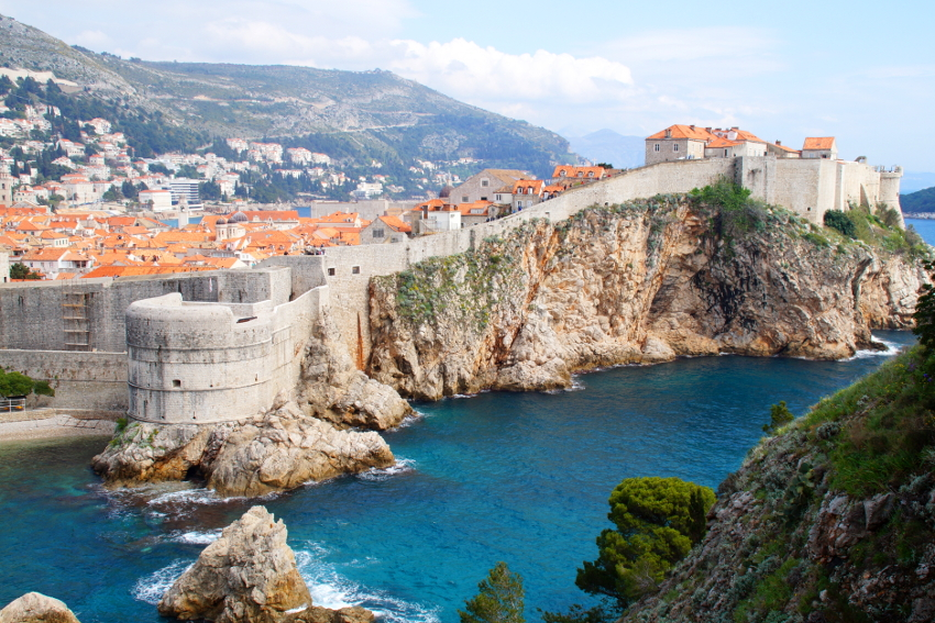 Dubrovnik City Walls Croatia