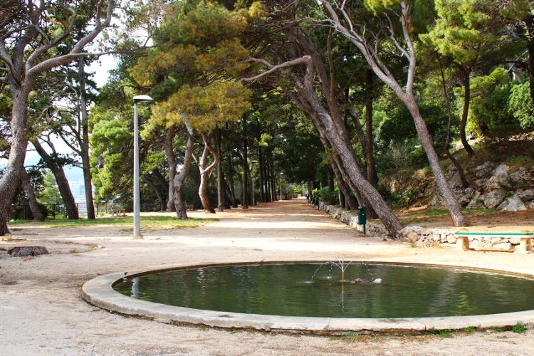 Gradac Park Dubrovnik Croatia