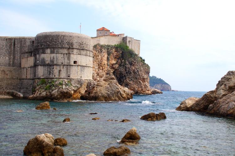 Stadthafen Dubrovnik West Harbour Dubrovnik Croatia