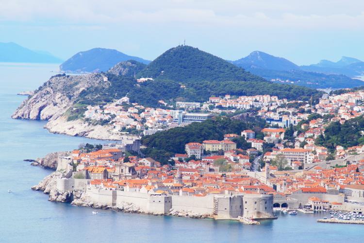 Stadtmauer City Walls Dubrovnik Croatia Kroatien