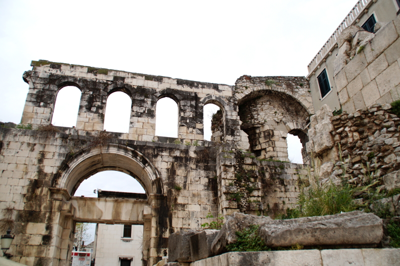 Altstadt Split Kroatien UNESCO Weltkulturerbe Oldtown Split Croatia UNESCO Heritage
