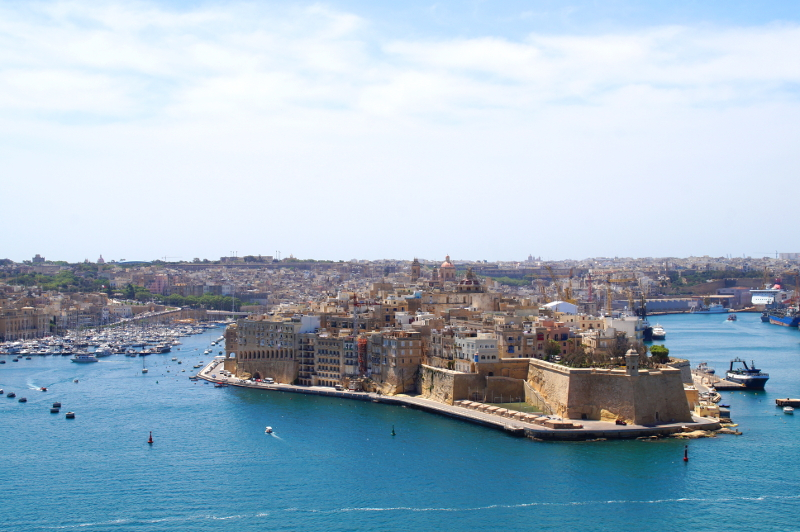 Fort Saint Angelo Malta Valletta Il Birgu